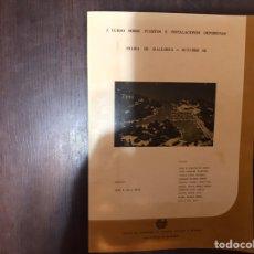 Libros de segunda mano: I CURSO SOBRE PUERTOS E INSTALACIONES DEPORTIVAS. OCTUBRE 82. RARO. DIFÍCIL. Lote 183917153