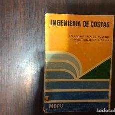 Libros de segunda mano: INGENIERÍA DE COSTAS. RAFAEL DEL MORAL CARRO. DIFÍCIL. Lote 183918747