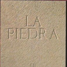 Libros de segunda mano: LA PIEDRA EN CASTILLA Y LEÓN. Lote 184159080