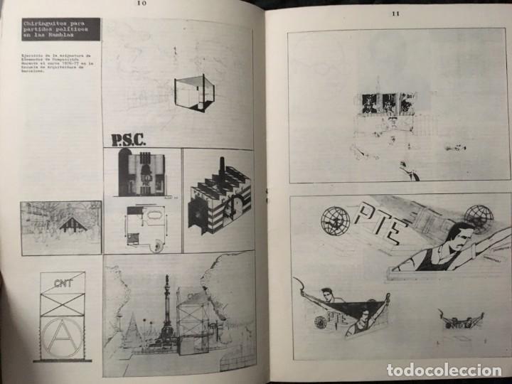 Libros de segunda mano: CARRER DE LA CIUTAT - REVISTA DE ARQUITECTURA Nº0 - INCLUYE CARTEL PÓSTER ANUNCIANDO EL Nº1 - Foto 4 - 185683840
