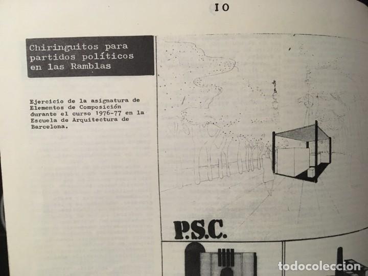 Libros de segunda mano: CARRER DE LA CIUTAT - REVISTA DE ARQUITECTURA Nº0 - INCLUYE CARTEL PÓSTER ANUNCIANDO EL Nº1 - Foto 5 - 185683840