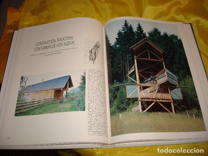 Libros de segunda mano: ARCHITECTURAL HOUSES VOL. 10 : CASAS EN LAS ALTAS MONTAÑAS. ATRIUM, 1991 - Foto 4 - 187382952