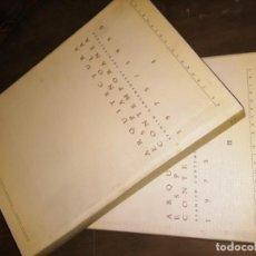 Libros de segunda mano: ARQUITECTURA ESPAÑOLA CONTEMPORANEA.1975-1990 2 VOLÚMENES ED EL CROQUIS. Lote 188635417