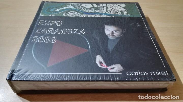 EXPO ZARAGOZA 2008 - CARLOS MIRET - ARQUITECTO - NUEVO PRECINTADO/ M105 (Libros de Segunda Mano - Bellas artes, ocio y coleccionismo - Arquitectura)