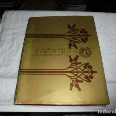 Libros de segunda mano: EL CIRCULO DEL LICEO.JUAN BASSEGODA NONELL.125 ANIVERSARIO 1847-1992.BARCELONA 1973. Lote 189786686