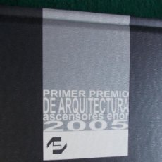 Libros de segunda mano: PRIMER PREMIO AENOR DE ARQUITECTURA 2005. Lote 190126021