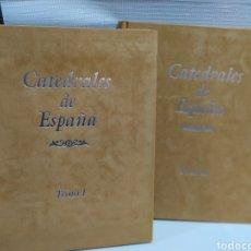 Libros de segunda mano: CATEDRALES DE ESPAÑA - EDICIÓN DE LUJO -- CULTURAL EDICIONES - CON CERTIFICADO DE EDICIÓN NUMERADA. Lote 190562345