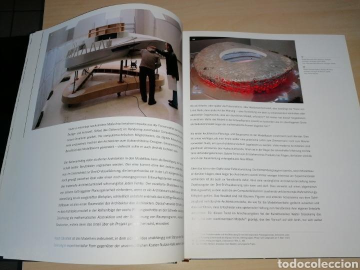 Libros de segunda mano: MEISTER DER MINIATUREN - ARCHITEKTUR MODELLBAU - ANSGAR OSWALD - Foto 5 - 191065475