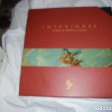 Libros de segunda mano: INTERIORES DE CASAS DE INDIANOS EN ASTURIAS.FRANCISCO JAVIER CHAO.FOTOGRAFIAS ALEJANDRO BRAÑA.SEDES . Lote 191192826