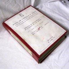 Libros de segunda mano: PROYECTO DE RESTAURACIÓN DE LA IGLESIA DE SAN MIGUEL, PALENCIA 1989. Lote 191413203