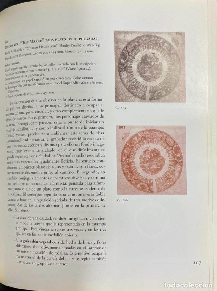 Libros de segunda mano: ESTAMPACIONES PARA LOZAS DE LOS SIGLOS XIX Y XX. MUSEO BELLAS ARTES ASTURIAS. OVIEDO, 2000.PAGS:117 - Foto 4 - 191877560