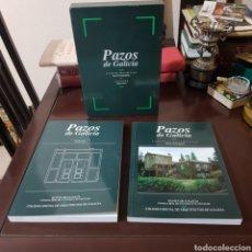Libros de segunda mano: PAZOS DE GALICIA ANALISIS DOCUMENTAL CATALOGO 1989 GARCIA IGLESIAS. Lote 192200040