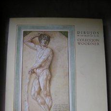 Libros de segunda mano: LIBRO DIBUJOS SIGLOS XIV-XX COLECCION WOODNER. Lote 192541512