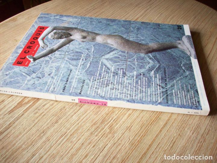 Libros de segunda mano: EL CROQUIS - ARQUITECTURA Y DISEÑO - Nº 26 - 1986 - Foto 2 - 194244001