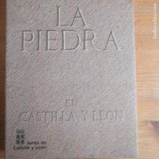 Libros de segunda mano: LA PIEDRA EN CASTILLA Y LEÓN GARCÍA DE LOS RÍOS COBO, JOSÉ IGNACIO PUBLICADO POR JUNTA DE CASTILLA . Lote 194263507