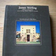 Libros de segunda mano: JAMES STIRLING . OBRAS Y PROYECTOS . EDITORIAL GUSTAVO GILI 1ª EDICION 1985. Lote 194264428