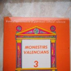 Libros de segunda mano: RUTES D'APROXIMACIÓ AL PATRIMONI CULTURAL VALENCIÀ - CONESA, FRANCISCA; SELLÉS, FRANCISCO; LARA, JOA. Lote 194335942