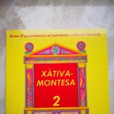Libros de segunda mano: RUTES D'APROXIMACIÓ AL PATRIMONI CULTURAL VALENCIÀ - CONESA, FRANCISCA; SELLÉS, FRANCISCO; LARA, JOA. Lote 194336248