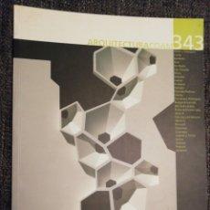 Libros de segunda mano: ARQUITECTURA COAM 343. Lote 194345871