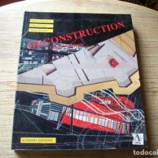Libros de segunda mano: DECONSTRUCTION . OMNIBUS VOLUME . ACADEMY EDITIONS . 1ª EDICION. Lote 194496998