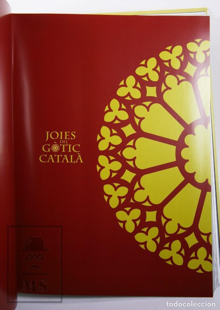 Libros de segunda mano: Libro de Gran Formato - Joies del Gòtic Català - Enciclopèdia Catalana, 2013 - #FLA - Foto 5 - 194850081