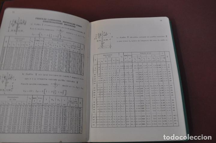 Libros de segunda mano: prontuario para el empleo del acero laminado - año 1955 - AQ2 - Foto 2 - 194879126