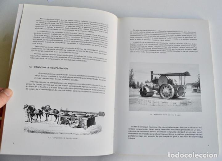 Libros de segunda mano: Félix y Luis Fernández. Introducción a la Compactación Vibratoria. Lebrero. Zaragoza, 1986 - Foto 4 - 194882692