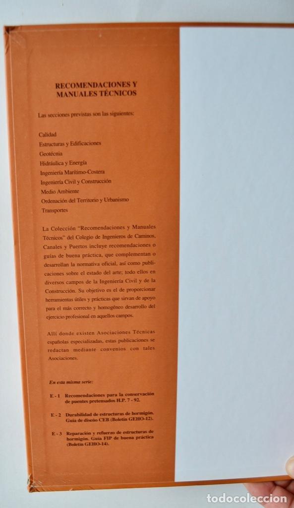 Libros de segunda mano: E-4 Estructuras y Edificación. Código Modelo CEB-FIP 1990 para Hormigón Estructural. 1995 - Foto 2 - 194885418