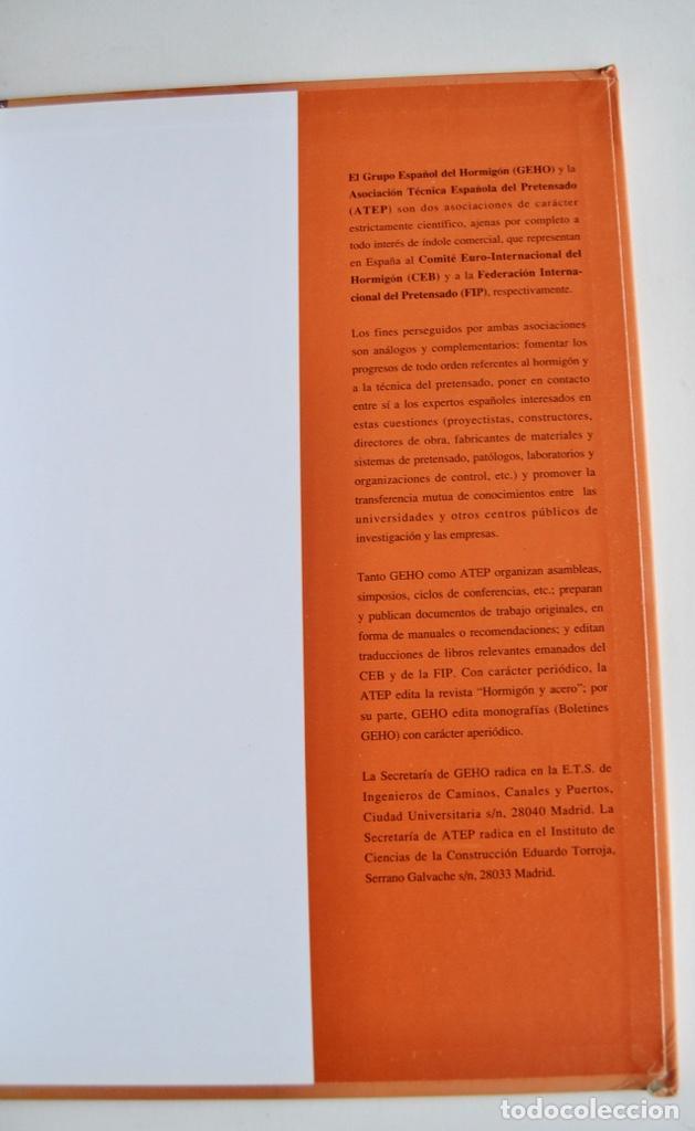 Libros de segunda mano: E-4 Estructuras y Edificación. Código Modelo CEB-FIP 1990 para Hormigón Estructural. 1995 - Foto 13 - 194885418