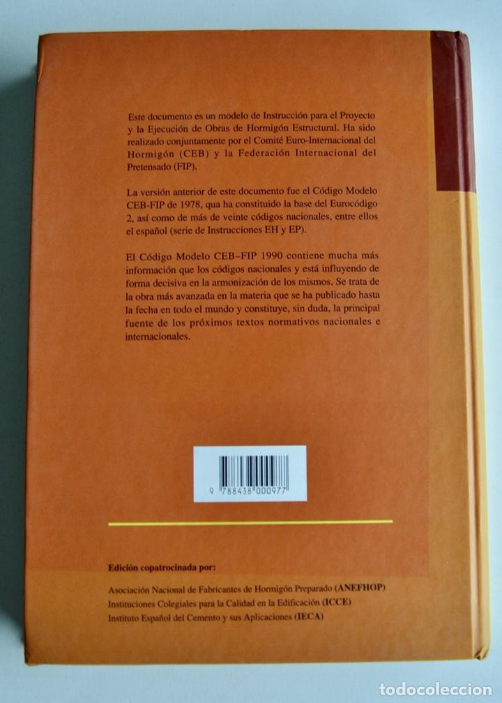 Libros de segunda mano: E-4 Estructuras y Edificación. Código Modelo CEB-FIP 1990 para Hormigón Estructural. 1995 - Foto 14 - 194885418