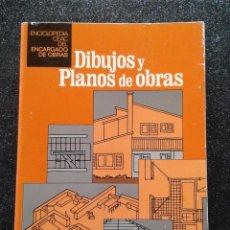 Libros de segunda mano: DIBUJOS PLANOS Y OBRAS CEAC 3ª EDICIÓN MAYO 1981. Lote 194907817