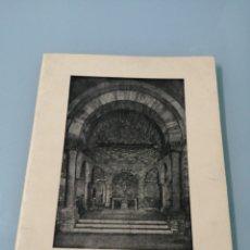 Libros de segunda mano: SANTA MARÍA DE PORQUERES. IGLESIA ROMÁNICA - SIGLO XII. GERONA. 1973.. Lote 195075160