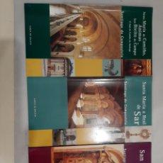 Libros de segunda mano: GALICIA SANTIAGO DE COMPOSTELA SANTA MARÍA DO CAMIÑO..SANTA NARUA REAL SAR. SAN POIO ANTEALTARES. Lote 195079070