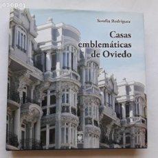 Libros de segunda mano: CASAS EMBLEMATICAS DE OVIEDO; SERAFIN RODRIGUEZ, 1º EDIC,2012. Lote 195105283
