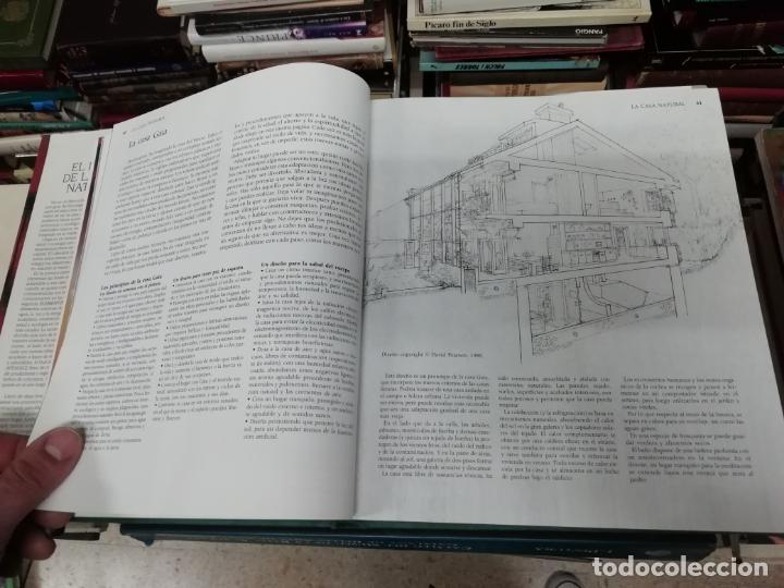 Libros de segunda mano: EL LIBRO DE LA CASA NATURAL. CÓMO CREAR UN HOGAR SANO,ARMÓNICO Y ECOLÓGICO. DAVID PEARSON. 1993 - Foto 8 - 195235427
