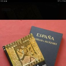 Libros de segunda mano: ESPAÑA, CASTILLOS Y ALCAZARES - JOSE ORTIZ-ECHAGÜE- 1964.. Lote 195238968