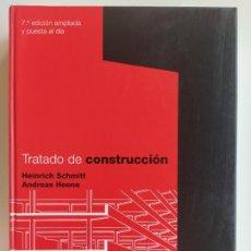 Libros de segunda mano: TRATADO DE CONSTRUCCIÓN - HEINRICH SCHMITT, ANDREAS HEENE - GUSTAVO GILI 7º EDICIÓN AMPLIADA. Lote 195330138