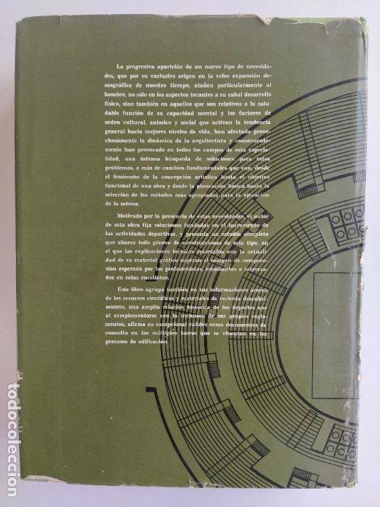 Libros de segunda mano: ARQUITECTURA DEPORTIVA - ALFREDO PLAZOLA CISNEROS - LIMUSA WILEY - Foto 3 - 195330842