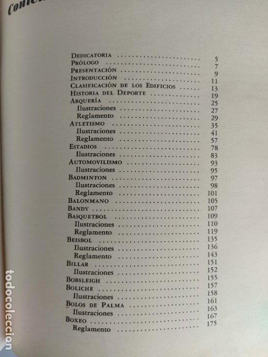 Libros de segunda mano: ARQUITECTURA DEPORTIVA - ALFREDO PLAZOLA CISNEROS - LIMUSA WILEY - Foto 8 - 195330842