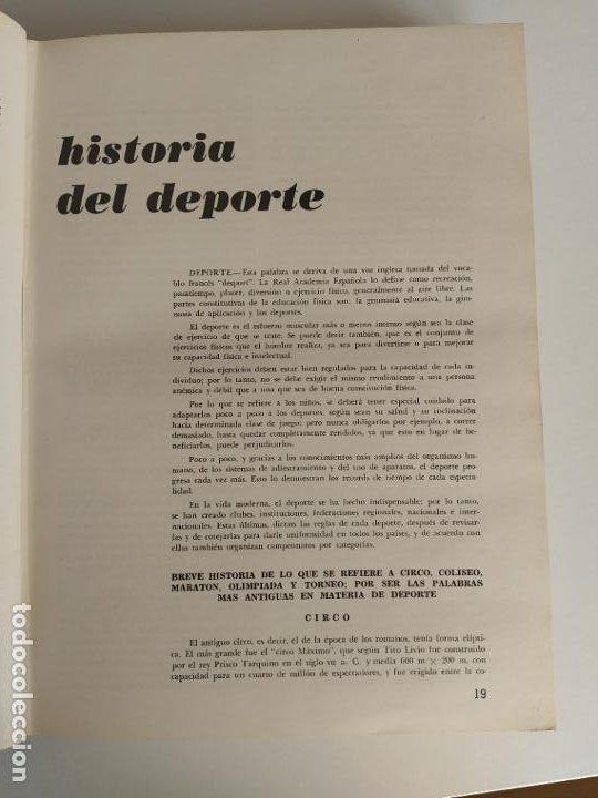 Libros de segunda mano: ARQUITECTURA DEPORTIVA - ALFREDO PLAZOLA CISNEROS - LIMUSA WILEY - Foto 10 - 195330842