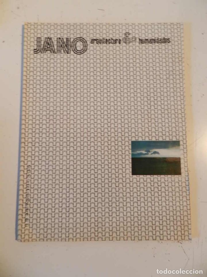 JANO ARQUITECTURA 18 AÑO 1974 REVISTA DE ARQUITECTURA (Libros de Segunda Mano - Bellas artes, ocio y coleccionismo - Arquitectura)