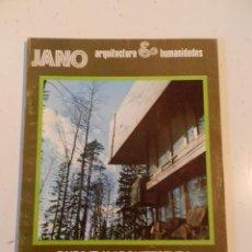 Libros de segunda mano: JANO ARQUITECTURA 20 AÑO 1974 REVISTA DE ARQUITECTURA - FINLANDIA. Lote 195364843