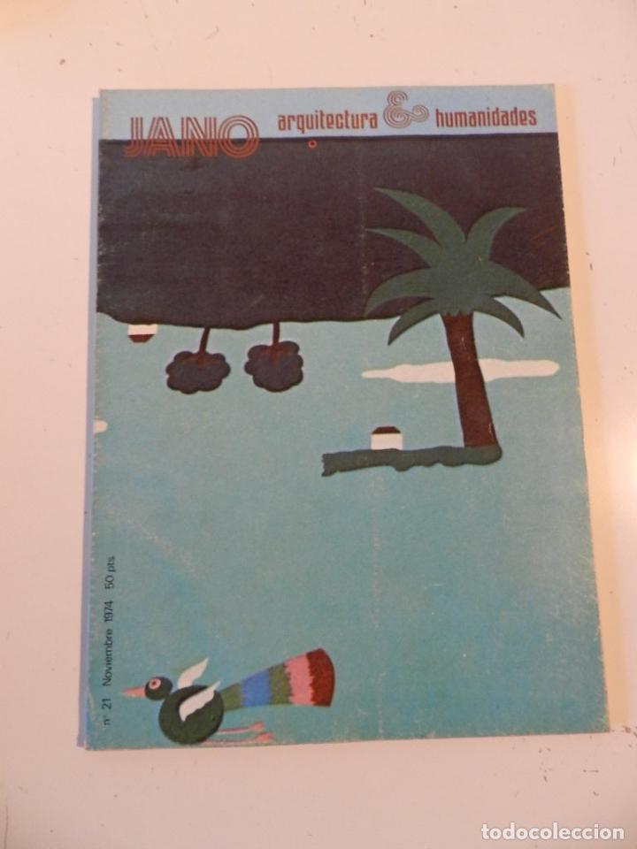 JANO ARQUITECTURA 21 AÑO 1974 REVISTA DE ARQUITECTURA - FINLANDIA (Libros de Segunda Mano - Bellas artes, ocio y coleccionismo - Arquitectura)