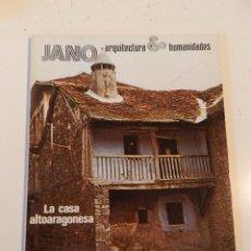Libros de segunda mano: JANO ARQUITECTURA 23 AÑO 1974 REVISTA DE ARQUITECTURA - CASA ALTOARAGONESA VER ÍNDICE. Lote 195364997