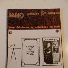 Libros de segunda mano: JANO ARQUITECTURA 26 AÑO 1975 REVISTA DE ARQUITECTURA - VER ÍNDICE. Lote 195365668