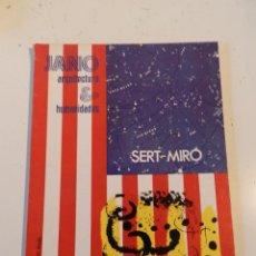 Libros de segunda mano: JANO ARQUITECTURA 30 AÑO 1975 REVISTA DE ARQUITECTURA - SERT I MIRÓ- VER ÍNDICE. Lote 195365943