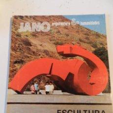 Libros de segunda mano: JANO ARQUITECTURA 17 AÑO 1974 REVISTA DE ARQUITECTURA - ESCULTURA EN LA CALLE. Lote 195371966