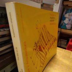 Libros de segunda mano: TECNOLOGÍA Y ARQUITECTURA. FREI OTTO. ARQUITECTURA ADAPTABLE. Lote 195414650