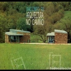 Libros de segunda mano: ARQUITECTURA NO CAMIÑO. PROYECTOS. REHABILITACIONES. ALBERGUES. XUNTA DE GALICIA. 1993.. Lote 195417475