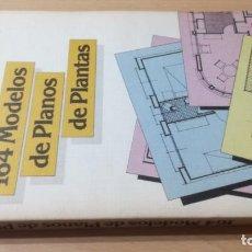 Libros de segunda mano: 164 MODELOS DE PLANOS DE PLANTAS - CEAC - ANSELMO RODRIGUEZ HERNANDEZ - K504. Lote 195421797